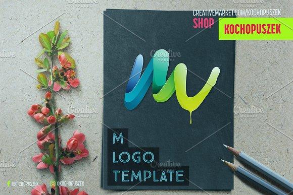 M Logo Template