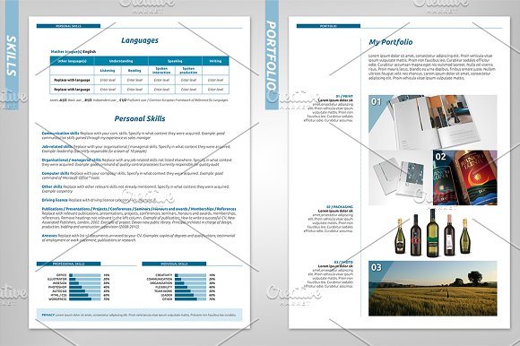 International Resume Template in Resume Templates - product preview 2