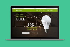 Commercio - E-Commerce Muse Template