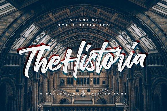 The Historia Urban Font Display Fonts On Creative Market