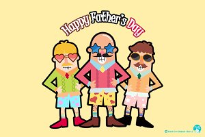 Digital Printable Happy Father's Day