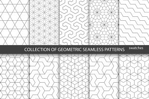 Ornamental geometric patterns.