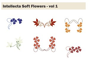 Intellecta Soft Flowers vol 1