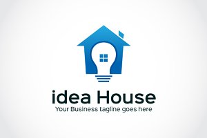idea House Logo Template