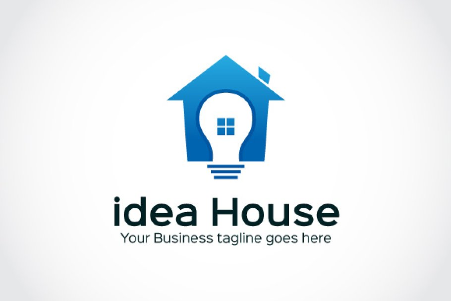 idea House Logo Template in Logo Templates - product preview 8