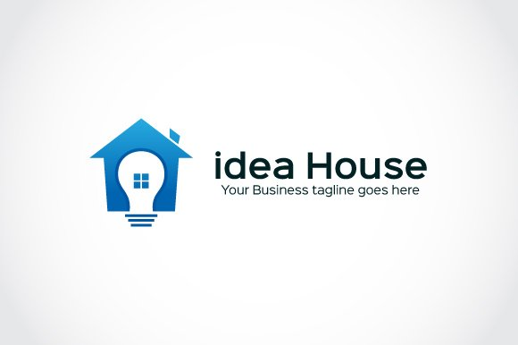 idea House Logo Template in Logo Templates - product preview 1