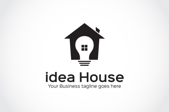 idea House Logo Template in Logo Templates - product preview 3