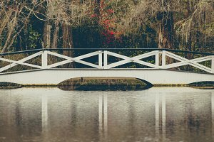 Magnolia Plantation White Bridge