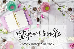 Pink Spring Instagram Bundle