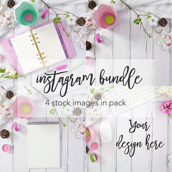 Pink Spring Instagram Bundle