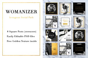 Womanizer Social Media Pack