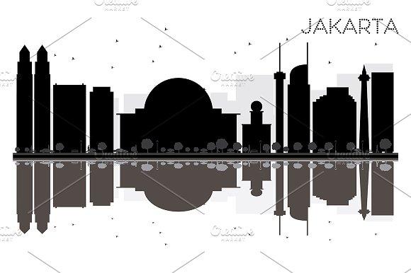 Jakarta City Skyline