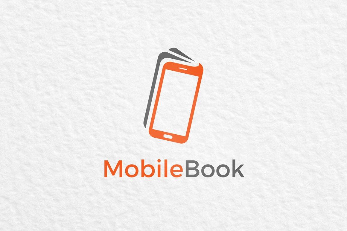 Mobile Book Logo ~ Logo Templates ~ Creative Market