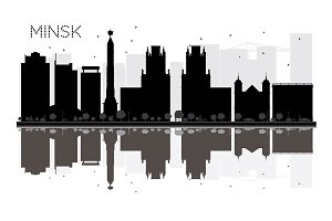 Minsk City skyline