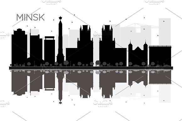 Minsk City skyline