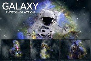 Galaxy - Photoshop Action