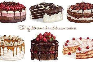 Dolce Vita! Delicious cakes.