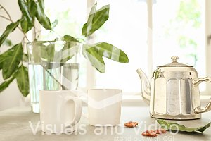 Stock Photo - Coffee, Tea, Pot