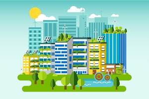 Eco City Skyline Flat