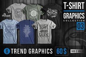 Tee shirt graphics collection