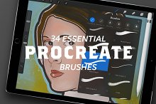34 Essential Procreate Brushes