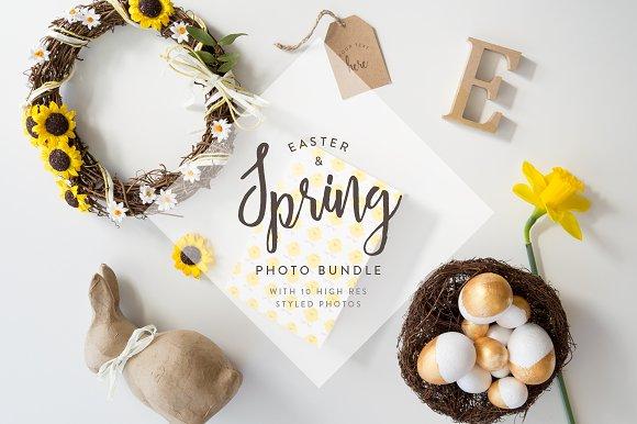Easter Spring Photo Bundle