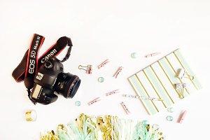 Camera Stock Photo Hero Image