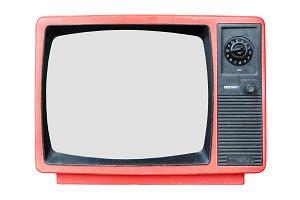 Retro old television