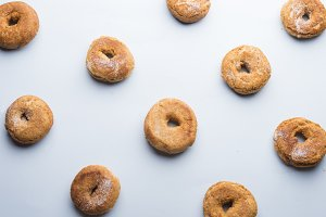 Donuts background