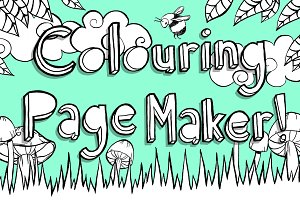25% OFF Woodland Coloring Page Maker