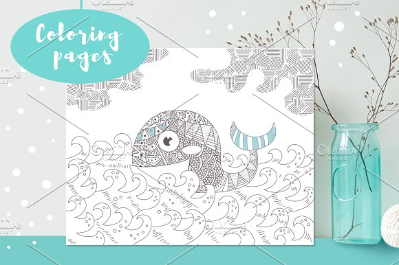 5 Coloring Pages