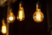 Retro luxury interior lighting bulb