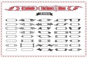 Tribal Banners & Frames