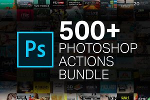 90% OFF 500+ Action Bundle