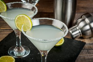 Margarita, martini or gin tonic