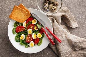 Easter Spring salad