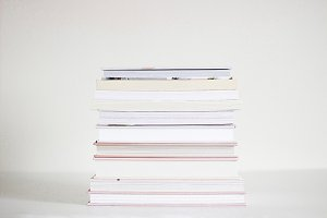 Book Stack (Wide)