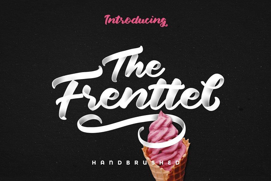 The Frenttel - Cursive Font