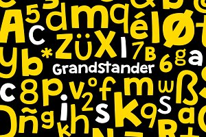 Grandstander - Light + Regular+Bold