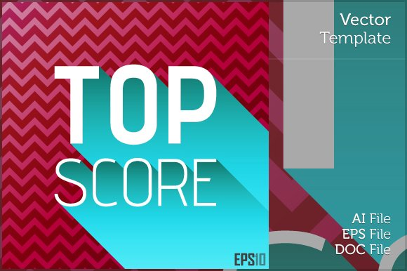 Top Score Editable Vector Graphics
