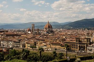 Florence Italy Cityscape