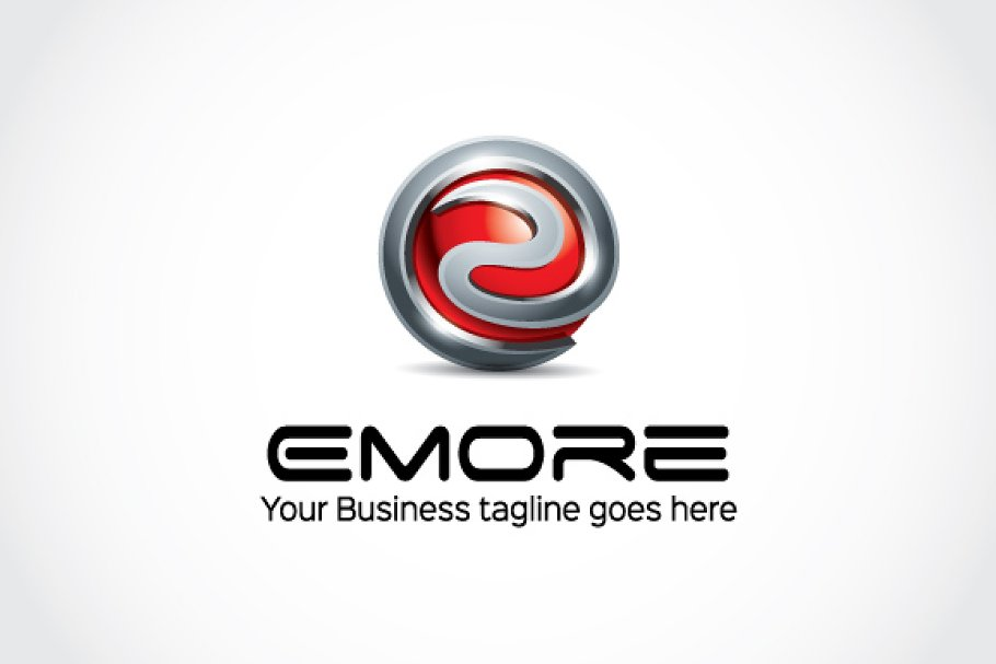 Emore Logo Template in Logo Templates - product preview 8