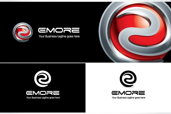 Emore Logo Template in Logo Templates - product preview 3