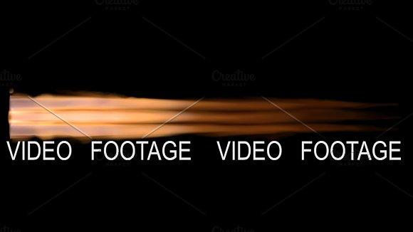 4k Rocket Engine Flame With Alpha Matte Channel For Compositing 3D Rendering