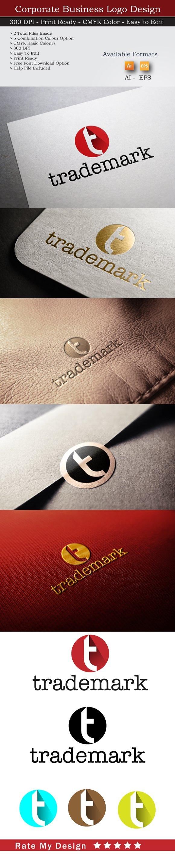 T Logo Trade Mark