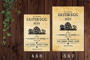 Vintage Easter Invitation Flyer-V523