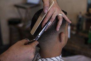 Barber Shop Haircut
