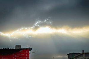 Storm Cloudy Sky