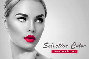 Selective Color Pro Actions