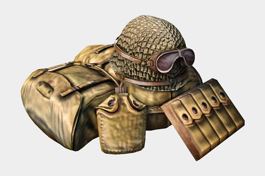 Soldier Accessories in People